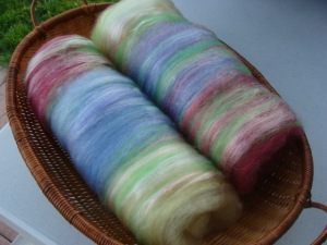 Fiber batts - My English Garden