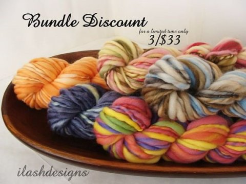 handspun discount bundle, handspun yarn, discount bundle, handspun bundle, discount yarn